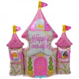Princess Castle Foil Balloon 84cm