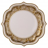 Fancy Gold Party Plates