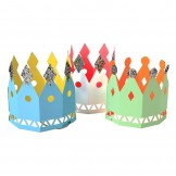 Colourful Party Crowns