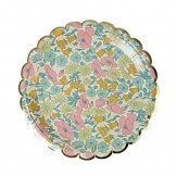 Liberty Poppy and Daisy Cake Plates
