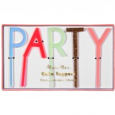 Pink Party Acrylic Toppers