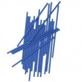 Dark Blue Pop Sticks (25 pack)