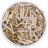 Gold Metallic Rod Sprinkles