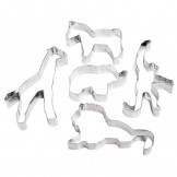 Jungle Safari Cookie Cutter Set