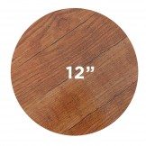 Wood Grain Round Cake Board 12 Inch