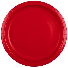 Red Classic Party Plates