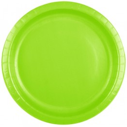 Lime Green Classic Party Plates
