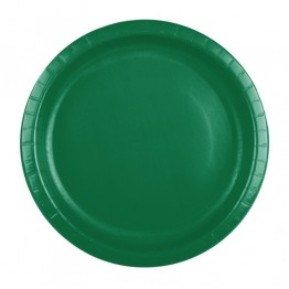 Emerald Green Classic Party Cake Plates