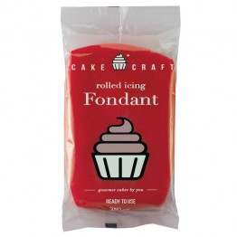 Cakecraft Ruby Red Fondant 250g