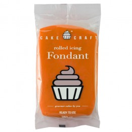 Cakecraft Sunset Orange Fondant 250g