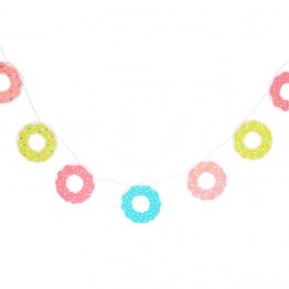 Donuts Party Garland