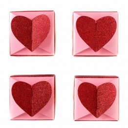 Heart Favour Boxes