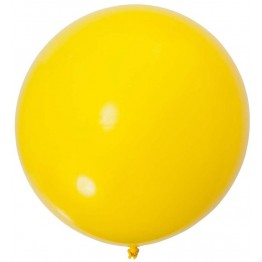 Yellow 90cm Jumbo Balloon